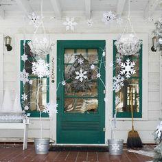 Berries Great Christmas door decoration plant container belt