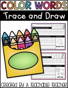 Color Words Trace an
