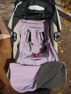 Stroller or Car Seat Cover Bundle Bag PDF Sewing Pattern
