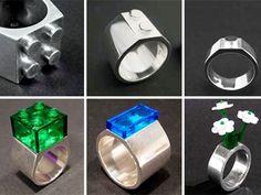 Do want.  Lego jewelry
