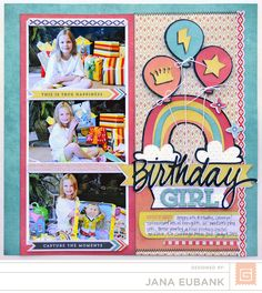 Birthday Girl by Jana Eubank featuring Spice Market from BasicGrey - Scrapbook.com
