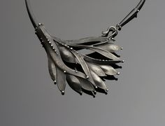 Mixed Metal Necklace by OlivOva on Etsy