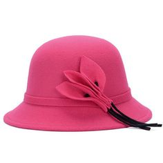 >> Click to Buy << 1 Pcs 2017 European Spring And Autumn Women Fedoras Fashion Artificial Wool Cotton Leaves Bucket Hat 6 Colors 8105 #Affiliate