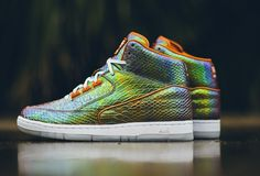 Nike Air Python Iridescent Multi-Color, Metallic Tawny, White Style Code 705066-202 Release Date Fall 2015 Retail Price $150 USD. Nike Air Python Iridescent