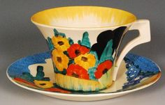 Clarice Cliff-Yes, this would also look beautiful!!!