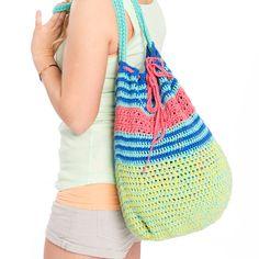 Anleitung für gehäkelte Sommertasche Sayama