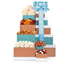 Celebration Chocolate Gift Towers   13725 from Print EZ Spice up the day with a series of boxes in these gift towers