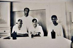 1929 Hastanede Annem ve Hemşire Arkadaşları   Tahire özel arşivi adına yeniden albüme yüklenmiştir. — TC Tahire Ö ile birlikte İZMİR İNTANİYE HASTAHANESİ
