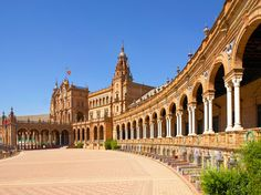 Plaza de Espana! à Séville
