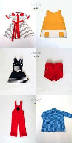 vintage clothes for children