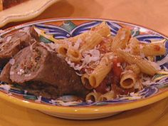 Brasciole from Rachel Ray.  Always wanted to learn how to make this Italian classic.