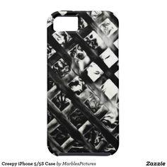Creepy iPhone 5/5S Case #creepy #fence #iPhone #case