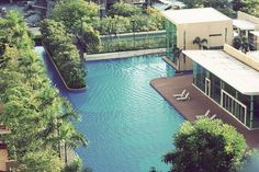 Now that's what we call a swimming pool..