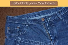 SQ Jeans offers Tailor Made Jeans with your own style, a perfect pair of Custom Made Jeans or you can say Bespoke Jeans. Our website offers a wide range of fabric selection with various kinds of shades for each fabric. Also, you can apply special wash treatments wherever you want.