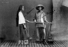 Oil Peddlers, Manila, Philippines, 1898 or before
