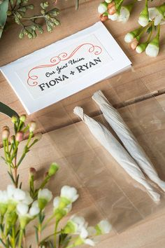 Marijuana Wedding Favors from www.evermine.com More