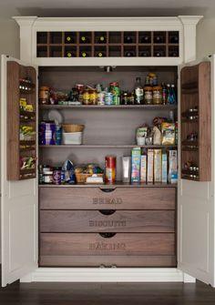 Pantry organization in the kitchen | BMLMedia.ie