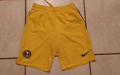NWT Authentic NIKE Club America Mexico Soccer Shorts  Men's Small
