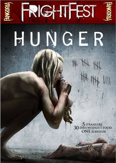 """Scotty looks at a disturbing horror film that explores what might happen if we were faced with starvation in """"Hunger""""! Best Horror Movies, Scary Movies, 18 Movies, Movies Online, Hindi Movies, Disney Pixar, Matilda Movie, Terror Movies, Verona"""