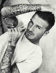 I know.... Beckham again!!! Love some bits of his sleeve tho