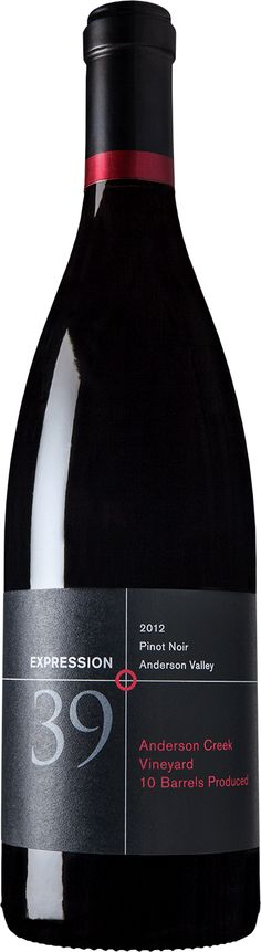 Expression 39° 2012 Pinot Noir | Wine Store | Gold Medal Wine Club