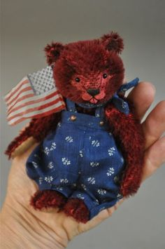 Hello!   Welcome to:   Wild Hare Wednesday     Please meet:   The Three Bears   Patriotic Style     (Each priced separately! )     Please...