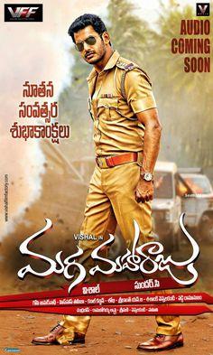 Actor #Vishal In #MagaMaharaju Telugu Movie HD Poster  visit at - http://modo.ly/1tHbLh3