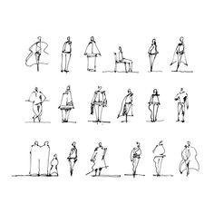 Here's another go-to resource when it comes to sketching human figures, including little tips. For your convenience, I turned exactly these… Human Figure Sketches, Human Sketch, Human Figure Drawing, Figure Sketching, Urban Sketching, Sketching Tips, Sketches Of People, Drawing People, Art Sketches