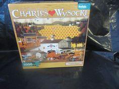 Pumpkin Hollow Charles Wysocki Jigsaw Puzzle 1000 pc 14+,Boys&Girl Buffalo Games #BuffaloGames#wysocki#pumkinhollow