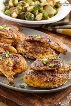 Six-Spice Maple Cornish Hens will give everyone another reason to enjoy backyard grilling. Maple syrup adds a sweet touch to Cornish hens and cayenne and black peppers add bite to the warmer flavors of cumin, ginger and thyme. Cornish Hen Recipe, Cornish Hens, Duck Recipes, Other Recipes, Fall Recipes, Venison Recipes, Chicken Recipes, Slow Cooker Cornish Hen, Food Dishes
