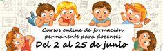 Todavía puedes apuntarte a los cursos de formación permanente para el profesorado de EducaciónDocente para la convocatoria del 2 al 25 de junio.