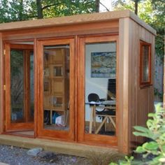 Garden Shed Home Office With Glass Door