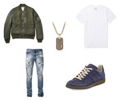 Untitled #93 by mingy97 on Polyvore featuring polyvore, Reigning Champ, Visvim, Maison Margiela, David Yurman, men's fashion, menswear and clothing