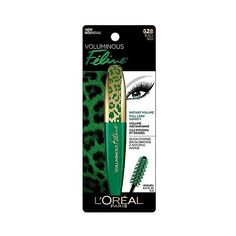 L'Oréal Paris Voluminous Feline Mascara ($7.99) ❤ liked on Polyvore featuring beauty products, makeup, eye makeup, mascara, l'oréal paris and l oreal paris mascara