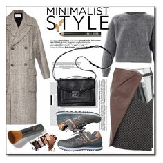 """Minimalistic style"" by nastya-d ❤ liked on Polyvore featuring Bobbi Brown Cosmetics, STELLA McCARTNEY, Peter Pilotto, New Balance and Minimaliststyle"