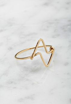 FOREVER 21+ by boe Double Triangular Ring on Shopstyle.