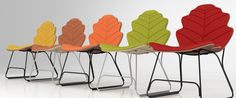Autumn colors chair on Behance