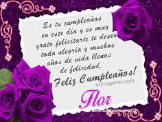 Tarjetas con flores para felicitar un cumpleaños (3)