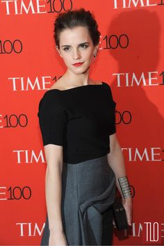 Emma Watson 100 Gala Red Carpet Fashion