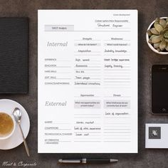 Job Interview Tracker Planner Pdf  Workplanner  Bestpractices