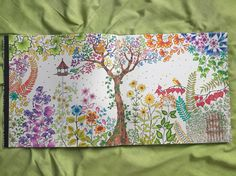 secret garden. johanna basford. #adultcoloringbook #secretgarden