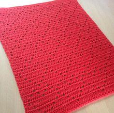 Hæklet Hjerte håndklæde 2, gratis hækle opskrift, Astrids design, Hæklet håndklæde med hjerter. Gratis hækleopskrift, hæklet håndklæde