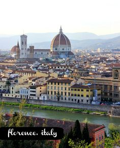 If you appreciate historically magnificent architecture, Florence, Italy is the place for you! (via @hisugarplum)