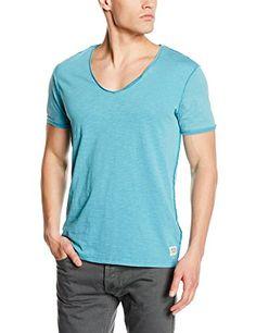JACK & JONES Herren T-Shirt Jjorpilot Tee Ss Mix Pack, Einfarbig, Gr. Small, Blau (Blue Moon)