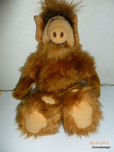 "ALF Alien Productions 1986 Coleco Talking 18""  Doll Plush Stuffed Toy Animal TV #Coleco"