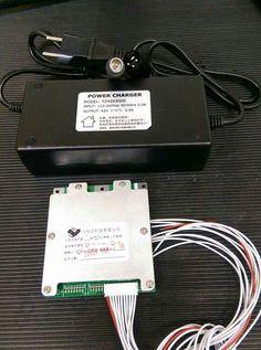 Li-ion charger 10s 3A + BMS 30A
