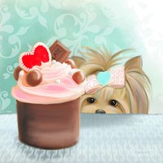 Forbidden Cupcake Mixed Media by Catia Cho - Forbidden Cupcake Fine Art Prints and Posters for Sale