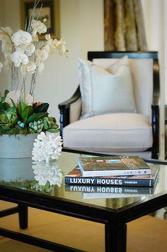 Gorgeous den/ living room interior design ideas and home decor ~ Custom Craftsman Orange County Interior Design