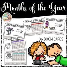Boom Cards - Months of the Year