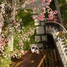 Jenna Lyons Brooklyn Brownstone Backyard